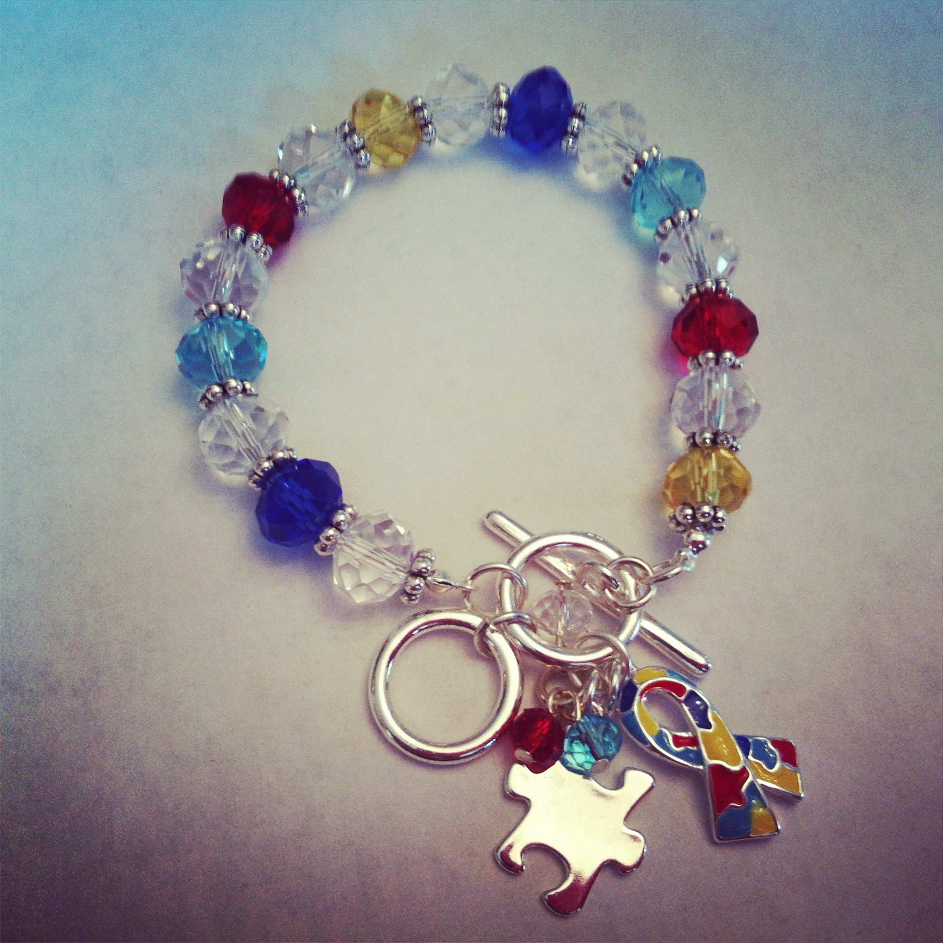 speaks awareness cgpd z product charm pieces jigsaw bracelet puzzle autism